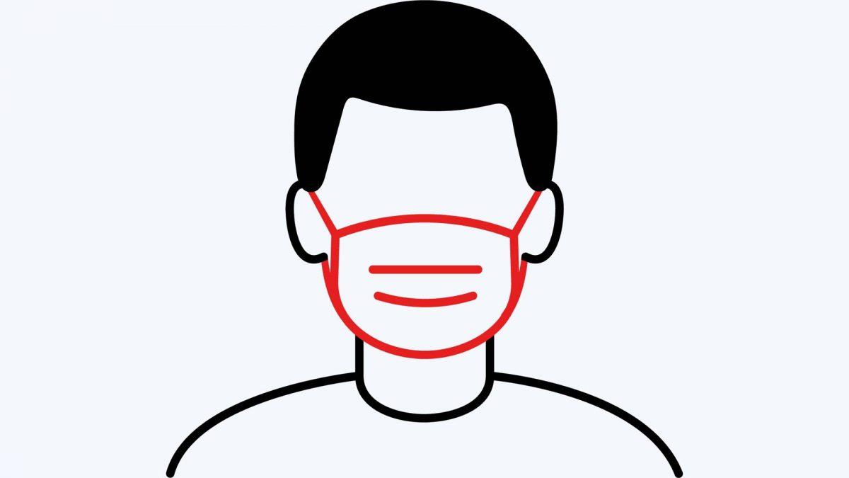 Affiche gratuite port du masque